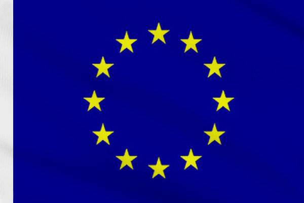 Drapeau Union Européenne 90 x 150 cm avec fourreau