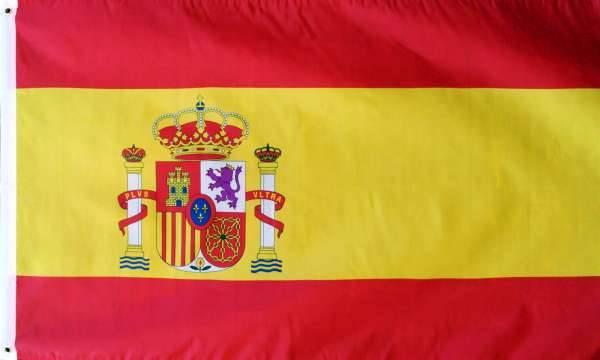 drapeau espagne 90 x 150 cm - Drapeau Espagnol A Imprimer