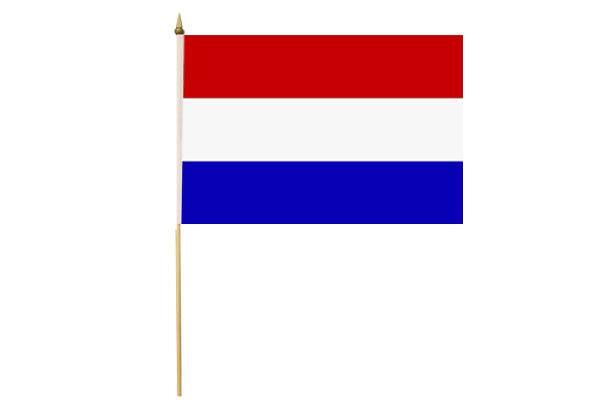 Drapeau avec Hampe Pays-Bas Hollande 30 x 45 cm