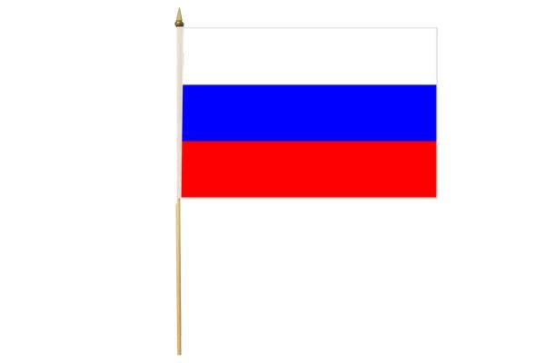 Drapeau avec Hampe Russie 30 x 45 cm