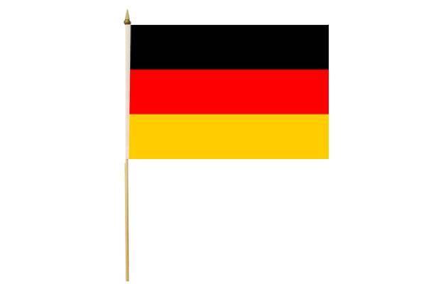 Drapeau avec Hampe Allemagne 15 x 20 cm