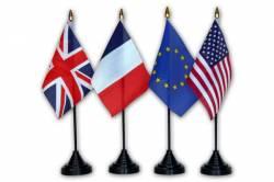 Drapeau de Table Union Européenne