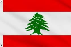 Drapeau Liban 30 x 45 cm