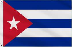 Drapeau Cuba 30 x 45 cm