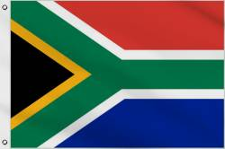 Drapeau Afrique du Sud 1994-Présent 90 x 150 cm