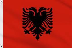 Drapeau Albanie 90 x 150 cm