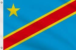 Drapeau Congo RDC Zaire 90 x 150 cm