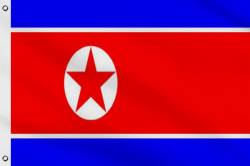 Drapeau Corée du Nord 90 x 150 cm