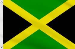 Drapeau Jamaïque 90 x 150 cm