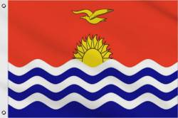 Drapeau Kiribati 90 x 150 cm