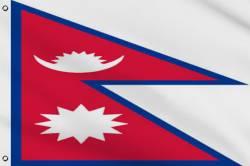 Drapeau Népal 90 x 150 cm