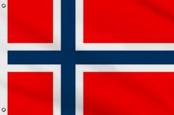 Drapeau Norvège 90 x 150 cm