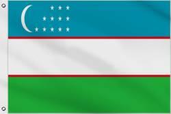 Drapeau Ouzbékistan 90 x 150 cm