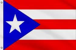 Drapeau Porto Rico 90 x 150 cm