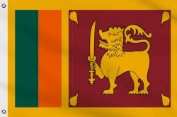 Drapeau Sri Lanka 90 x 150 cm