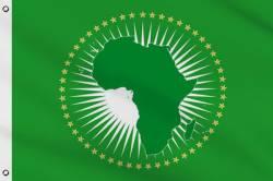Drapeau Union Africaine 90 x 150 cm
