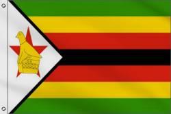 Drapeau Zimbabwe 90 x 150 cm