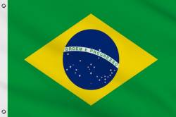 Drapeau Brésil 150 x 240 cm