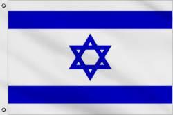 Drapeau Israël 150 x 240 cm