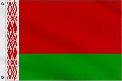 Drapeau Bielorussie 60 x 90 cm
