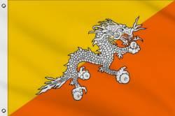 Drapeau Bhoutan 60 x 90 cm