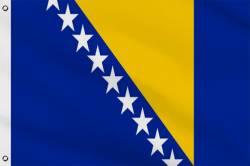 Drapeau Bosnie 60 x 90 cm