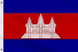 Drapeau Cambodge 60 x 90 cm