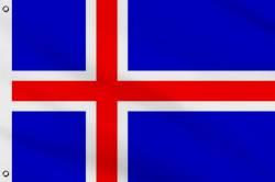 Drapeau Islande 60 x 90 cm