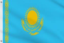 Drapeau Kazakhstan 60 x 90 cm