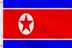 Drapeau Corée du Nord 60 x 90 cm