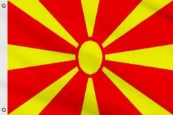 Drapeau Macédoine 1995-Présent 60 x 90 cm
