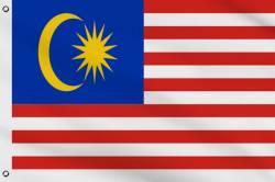 Drapeau Malaisie 60 x 90 cm