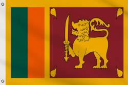 Drapeau Sri Lanka 60 x 90 cm
