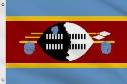 Drapeau Swaziland 60 x 90 cm