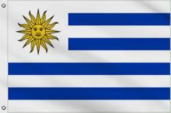 Drapeau Uruguay 60 x 90 cm