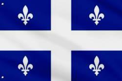 Drapeau Quebec 90 x 150 cm