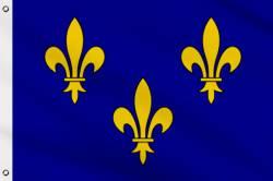 Drapeau Ile de France 90 x 150 cm