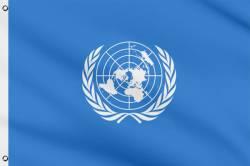 Drapeau de l'ONU 60 x 90 cm
