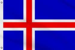 Drapeau Islande 150 x 240 cm