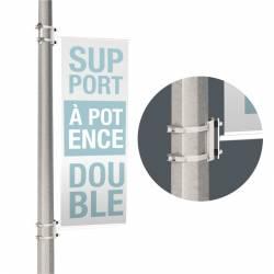 2 Potences de rue pour lampadaires